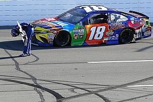 NASCAR Cup Отчет о гонке Кайл Буш победил впервые за 36 гонок в NASCAR Cup
