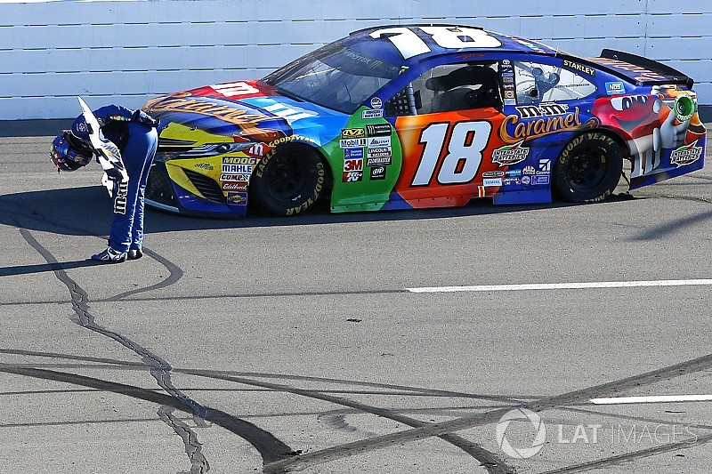 Kyle Busch ends winless streak with first Pocono victory