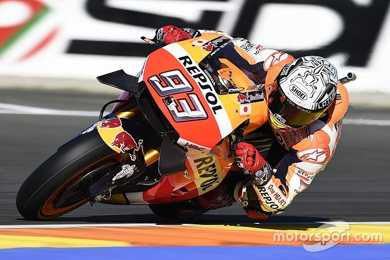 Valencia MotoGP: Marquez shades Vinales in third practice