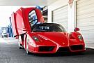 Photos - Shooting improvisé pour une Ferrari Enzo