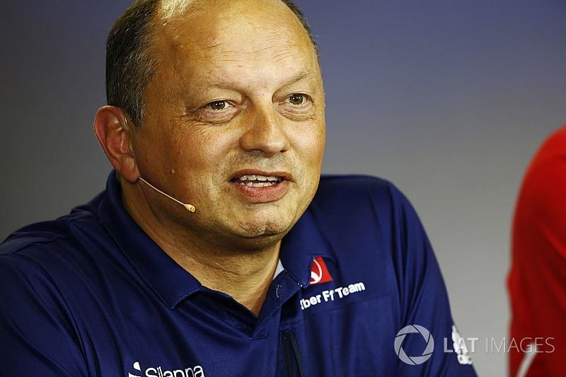 Vasseur: Kısa vadede Ferrari ve Mercedes'le yarışma hedefimiz yok