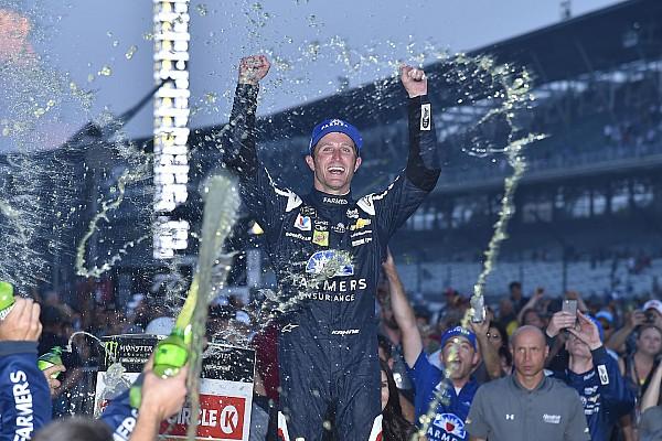NASCAR Cup Pese a un futuro incierto, Kahne triunfó en Indianápolis