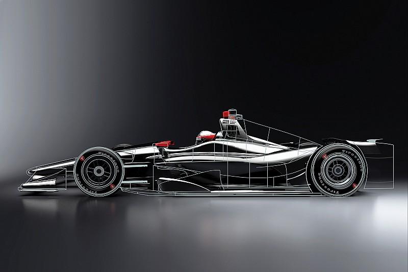 IndyCar presenta imágenes de su chasis para 2018