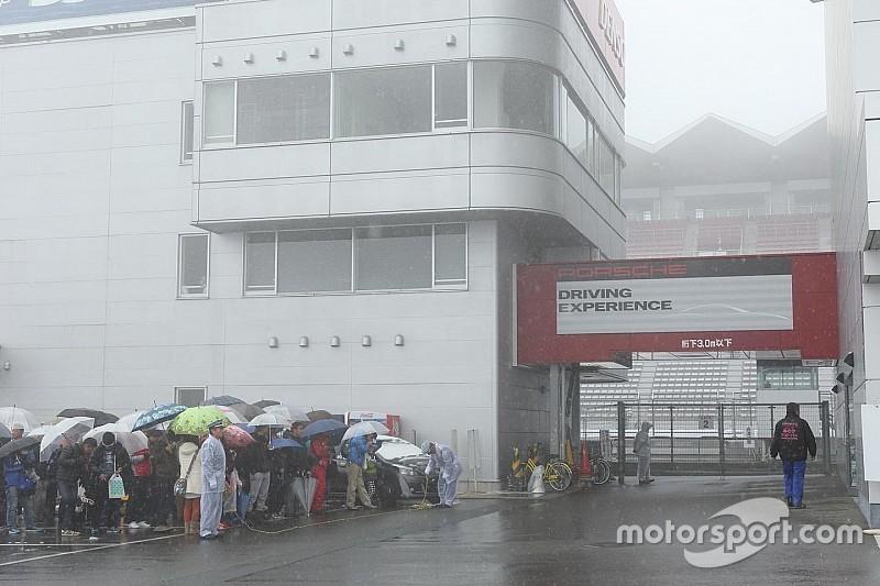 【スーパーGT】富士テスト2日目:天候回復せず。全ての走行が中止に