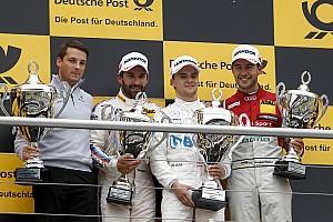 DTM Race report DTM Hockenheim: Menangi duel dramatis, Auer juarai balapan pembuka