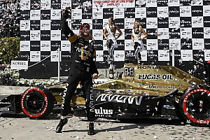 IndyCar Race report Long Beach IndyCar: Hinchcliffe wins, Andretti and Penske fade