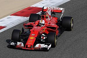 Fórmula 1 Crónica de entrenamientos Vettel lideró la FP1 de Bahrein y Pérez fue cuarto