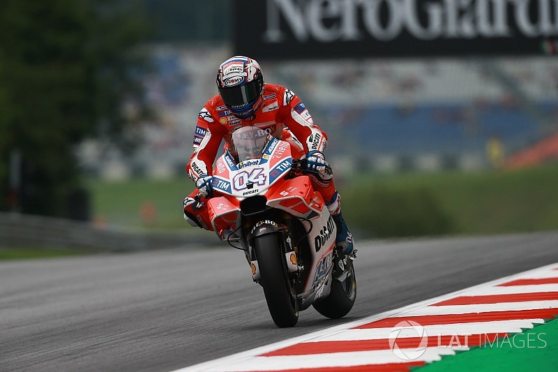 Austria MotoGP: Dovizioso tops drying second practice
