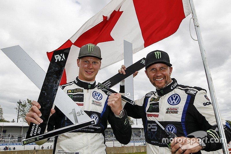 Kanada WRX: Kristoffersson üst üste üçüncü kez kazandı