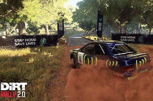 Codemasters adds coronavirus message into DiRT Rally 2.0