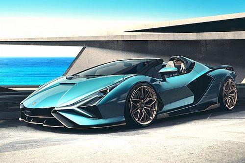 Lamborghini Sian Roadster, dal vivo lascia a bocca aperta