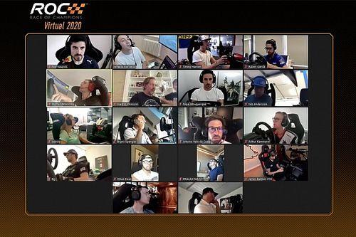 Грожан выиграл виртуальную Гонку чемпионов в командном зачете