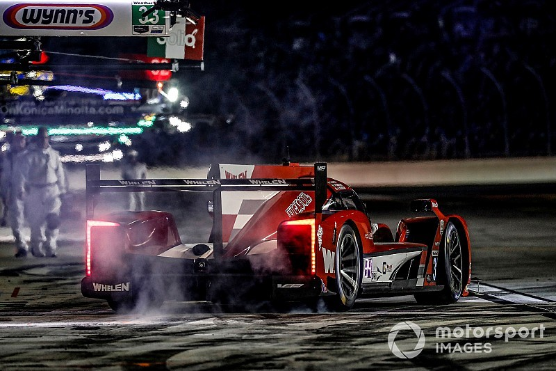 Rolex 24, Hour 12: AXR Cadillac leads after halfway mark