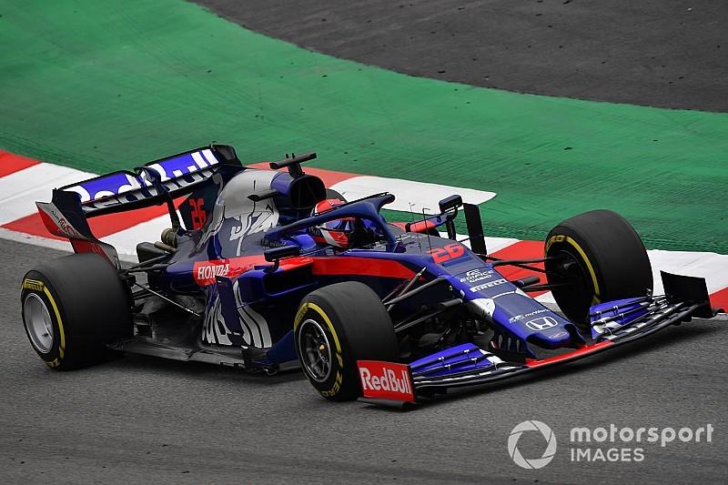 Tes F1 Barcelona: Kvyat buat kejutan di hari ketiga