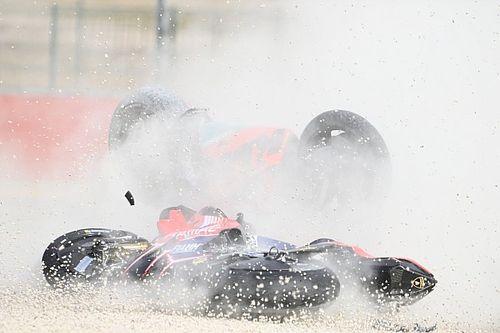 Binder penalised for Miller collision in Teruel GP