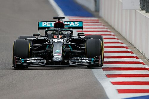 F1: Hamilton larga em Sochi sob investigação por teste de largada feito antes da corrida