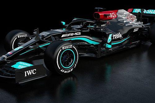 【2021年F1新車】メルセデスW12:フォトギャラリー