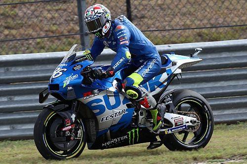 """Mir was """"scared"""" when Suzuki blew up in Americas MotoGP FP4"""