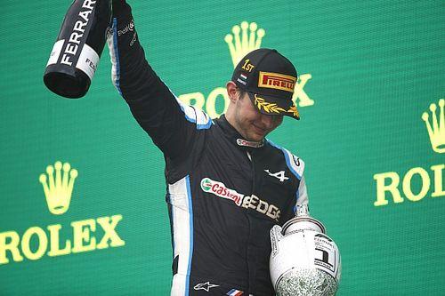 Stroll tanácsa is segítette Ocont az első F1-es futamgyőzelme megszerzésében