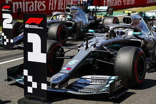 Overzicht van alle polesitters op het circuit van Barcelona