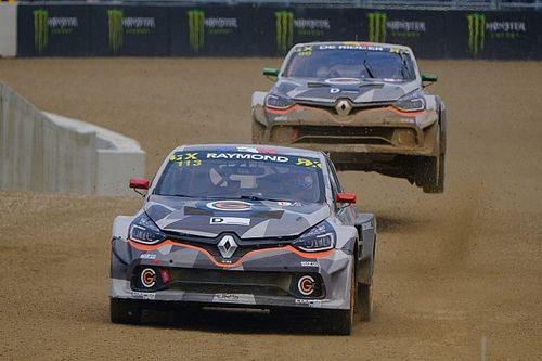 GCK World RX duo ditch Renault Megane for Clio