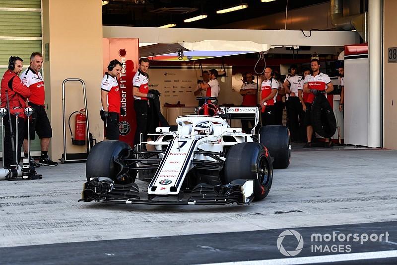 Abu Dhabi, Test Pirelli F1: ecco Raikkonen al debutto sulla Sauber