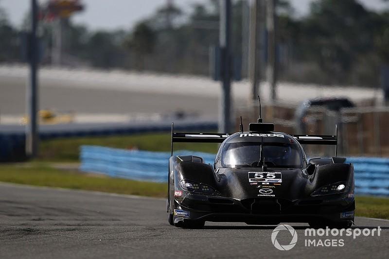 Mazda comenzó el domingo arriba en Daytona