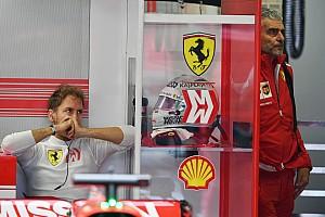 Vettel: Hatalar yaptım ama SF71H Mercedes'i yenecek kadar hızlı değildi
