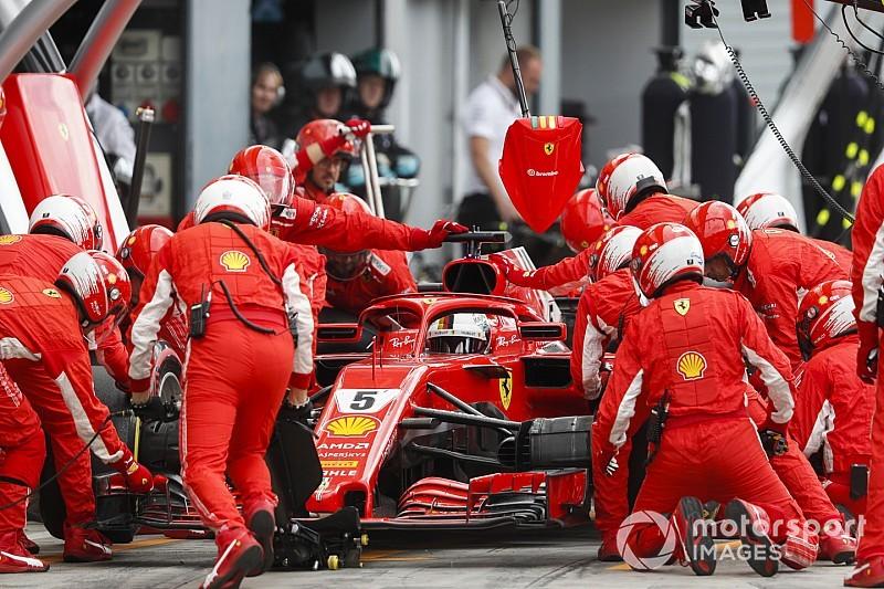 A Mercedes elmagyarázta, miért nem büntették meg Vettelt Monzában