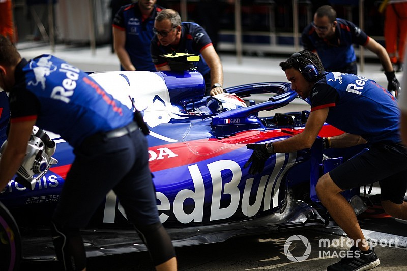Toro Rosso reverts to older-spec Honda for rest of Russian GP
