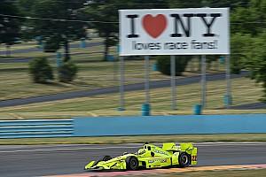 IndyCar Отчет о тестах Пилотам IndyCar понравилась обновленная трасса в Уоткинс-Глене