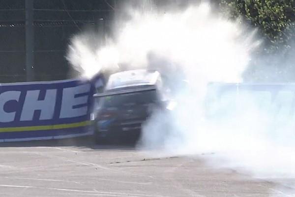 Video: Heftiger Crash bei TCR in Spa-Francorchamps