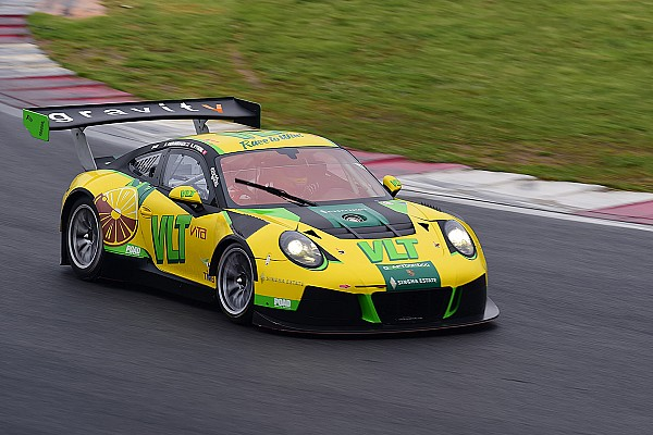 Asian GT Craft-Bamboo Racing taken out of the GT Asia lead in Korea