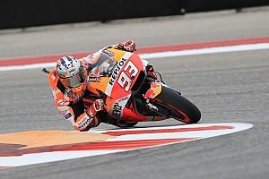 MotoGP Prove libere Austin, Libere 3: Marquez il più veloce prima della pioggia