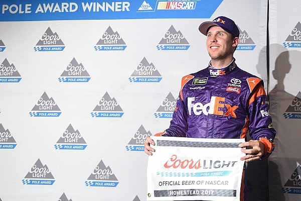 NASCAR Cup Qualifyingbericht NASCAR-Finale in Homestead: Denny Hamlin ärgert die Titelanwärter