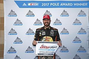 NASCAR Cup Qualifiche Truex sorprende Harvick e conquista la pole in Kansas