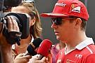 Räikkönen nagyon unja az interjúkat: új ötlettel állt elő a Forma-1-ben