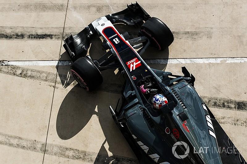 Grosjean: Haas yeterince hızlı değil