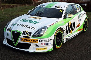 BTCC Breaking news HMS Racing's Alfa Romeo BTCC car unveiled at ASI