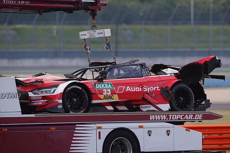 Відео: кульбіт та розтрощена машина Audi в гонці DTM