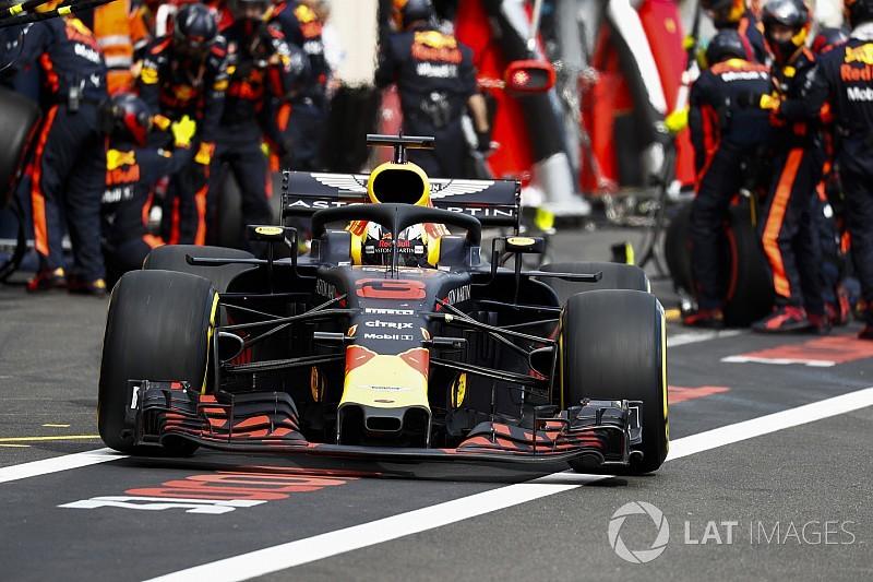 Comment l'aileron avant de Ricciardo l'a privé de podium