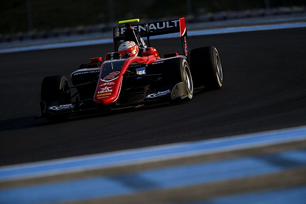 Юбер – найшвидший на перших тестах GP3 2018 року