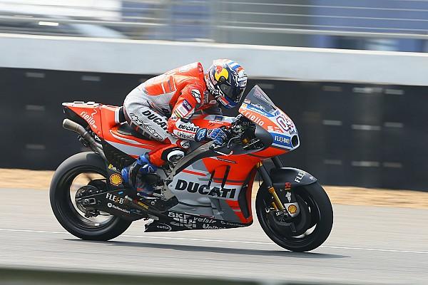 MotoGP Réactions Confiant, Dovizioso ne se soucie pas de sa position pour le moment