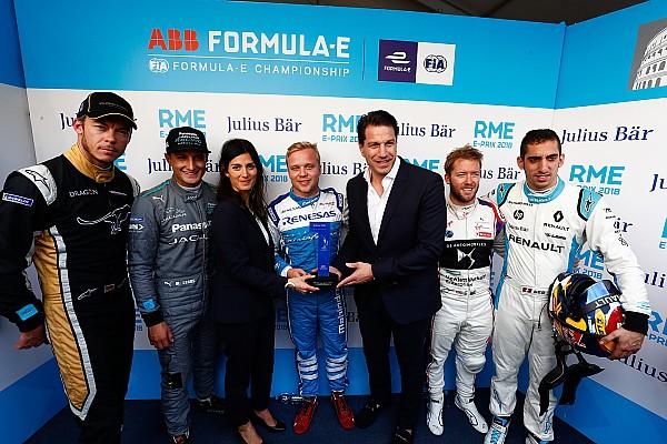 Grandissima pole position per Rosenqvist a Roma!