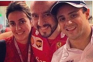Fórmula 1 Noticias El mecánico herido, una celebridad en escudería Ferrari
