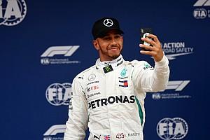 Fórmula 1 Crónica de Clasificación Hamilton gana la pole en España y Pérez en 15°