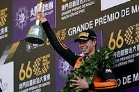 Macau winner Verschoor had bent steering