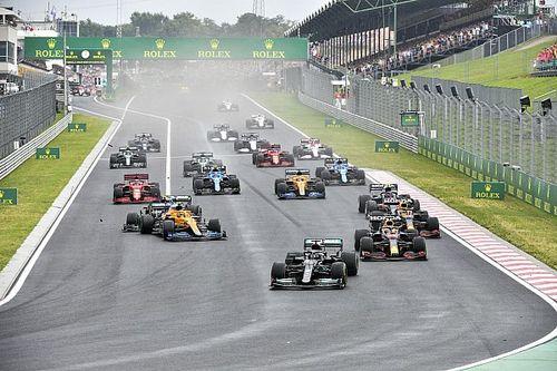 """Verstappen : """"Encore une fois, j'ai été sorti par une Mercedes"""""""