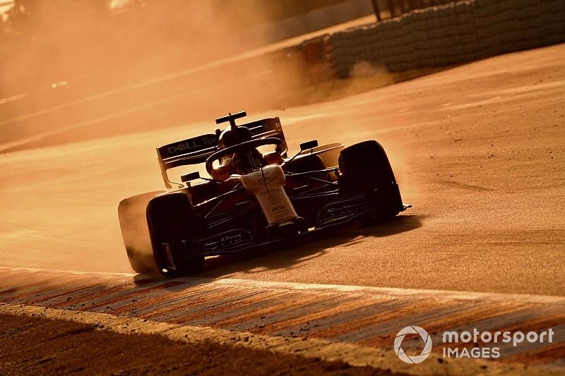 Sainz cree que es demasiado pronto para criticar la aerodinámica de 2019