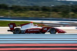 Шварцман закончил первые тесты в Формуле 3 с четвертым временем